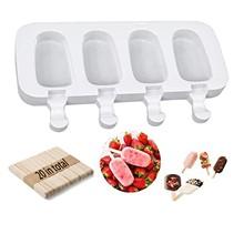 8 komórek silikonowa forma do mrożenia lodów sok sicle Maker dzieci formy Lolly taca akcesoria kuchenne tanie tanio Urządzenia do lodów CN (pochodzenie) Ekologiczne SILICONE