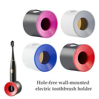 Elektryczny uchwyt na szczoteczki do zębów uchwyt do montażu na ścianie chroń uchwyt szczoteczki do zębów oszczędzaj miejsce utrzymuj suchy Stop pleśń uchwyt na szczoteczki do zębów Dropshipping tanie i dobre opinie Jeden poziom Wall Mounted Type CORNER Z tworzywa sztucznego bathroom organizer Other bathroom accessories set Electric Toothbrush Holder