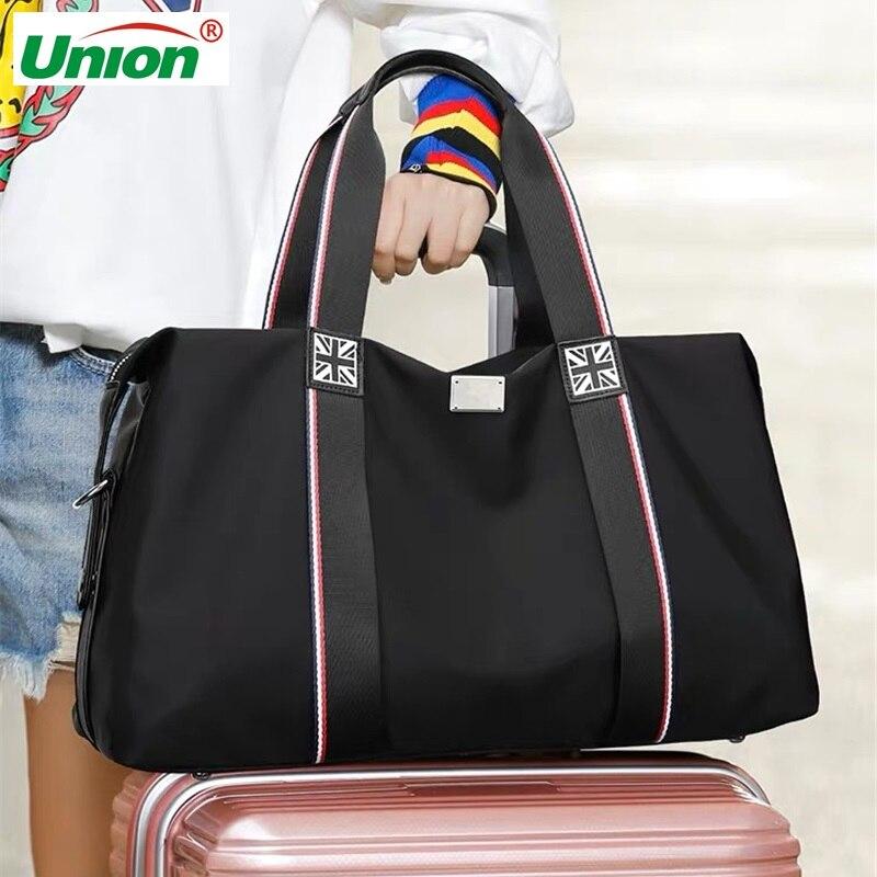 Rainbow Laser Gril Sport Bag Shine Women's Travel Handbag PVC Holographic Luggage Transparent 2020 Lady Tote Hologram Suitcases