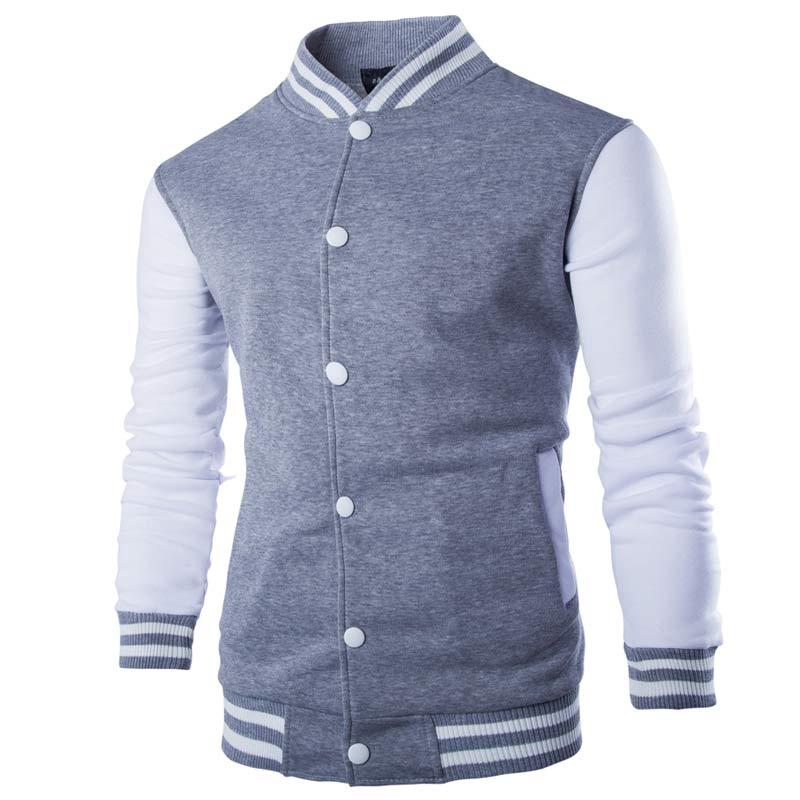 LOVZON New Men/Boy Baseball Jacket Men Fashion Design Wine Red Mens Slim Fit College Varsity Stylish Veste Homme 3