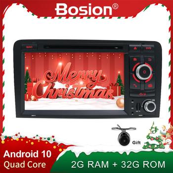 radio 2 din android 10.0 auto car radio stereo for audi a3 8p audio 2din dvd receiver bluetooth aux map camera wifi carplay dab image