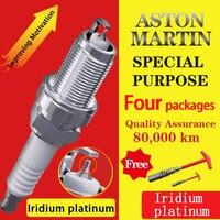 4pcs/Suitable for Aston Martin V8 Vantage Vanquish DB11 DBS V12 Vantage DB9 Virage Rapide Iridium platinum Spark plugs