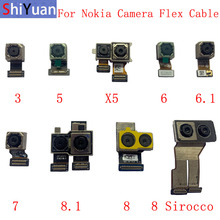 Back Rear Camera Flex Cable For Nokia 3 5 X5 6 6.1 7 8.1/X7 8 8 Sirocco Main Big Camera Module Replacement Parts