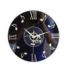 2019 Classical Antique 3D CD Disc Fashion Vinyl Record Wall Clock Creative Clocks Home Decor Gift Ideas Vintage