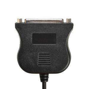 Image 5 - New Arrival 1pc 0.8m USB 2.0 do 25 Pin Port równoległy kabel do drukarki IEEE 1284 USB równolegle kabel Adapter Mayitr