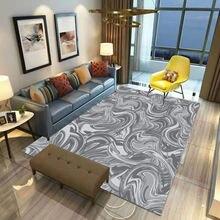Цветной нескользящий квадратный напольный коврик с зыбучим песком