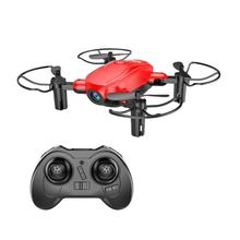D10w hd mini selfie zangão wifi rc quadcopter zangão aeronave com 0.3mp fpv câmera altitude hold modo headless(China)