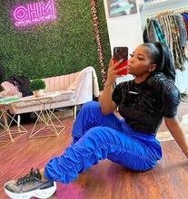 Уличная одежда джоггеры женские спортивные штаны большие размеры