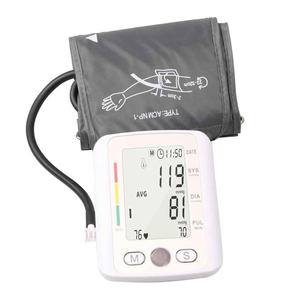 ครอบครัวเครื่องวัดความดันโลหิตทางการแพทย์อุปกรณ์ Tonometer Home เครื่องวัดความดันโลหิตฟังก์ชั่นเสียงสำหรับจอภาพ