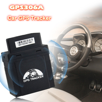 The global positioning system vehicle tracker GPS306a can locate and check the vehicle status in real time with alarm function