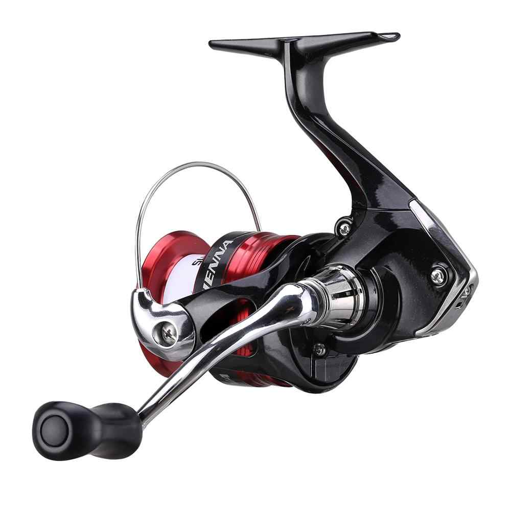 2019 Shimano Sienna Fg 2000 2500 2500HG C3000 Spinning Vissen Reel 4BB AR-C Spool 3D Gear Beginner Saltwater Visgerei