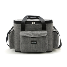 Insulated Picnic Cooler Outdoor Ice Pack Lunch Single-Shoulder Bags Soft Beach Bag For Men Women