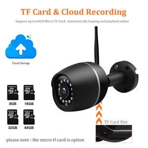 Image 3 - Wonsdar 1080P WIFI IP Camera Outdoor HD Metal Wireless Wired Bullet Security Camera Mini Weatherproof Night Vision P2P