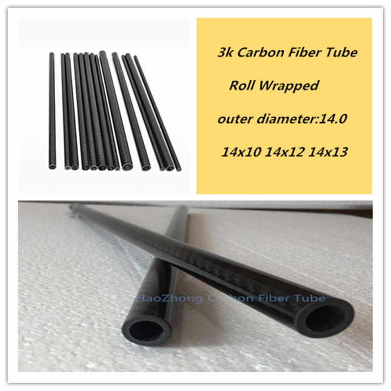 Roll Wrapped //Tubing//Pipe//Shaft US WHABEST 1Pcs Carbon Fiber Tube 3k High Gloss 19mm OD x 17mm ID X 1000MM Long