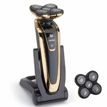 JINDING 5D Rechargeable Electric Shaver Whole Body Washing F