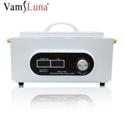 مسمار معقم تعقيم صندوق مع شاشة LCD ارتفاع درجة الحرارة مكافحة الفيروسات للمنزل الملقط مقص مانيكير مسمار أداة