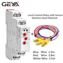 цена на Free Shipping GEYA GRL8 Liquid Level Control Relay Electronic Liquid Level Controller 10A  AC/DC24V-240V