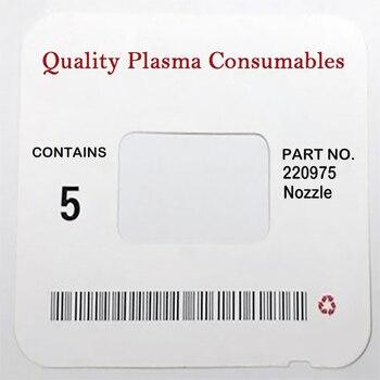 WS 220975 torche de découpe Plasma consommables buse pour 125A PKG/10