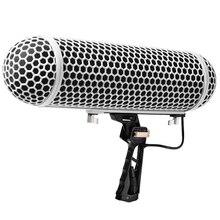 Mikrofon cam Blimp cam tarzı korumak kafes Rycote şok dağı süspansiyon sistemi yol NTG1 NTG2 NTG3 NTG4