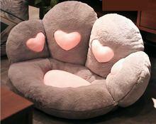 В виде влюбленного сердца игрушки кошки paw Подушка Мягкие лапы