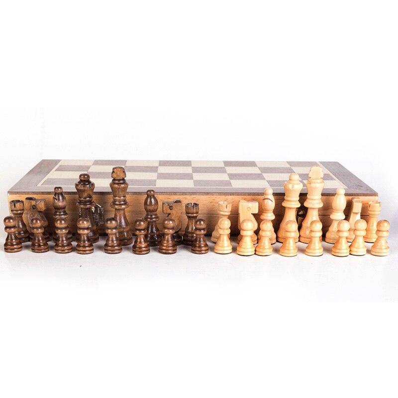 High-end quebra-cabeça xadrez jogo de xadrez, 40x40cm
