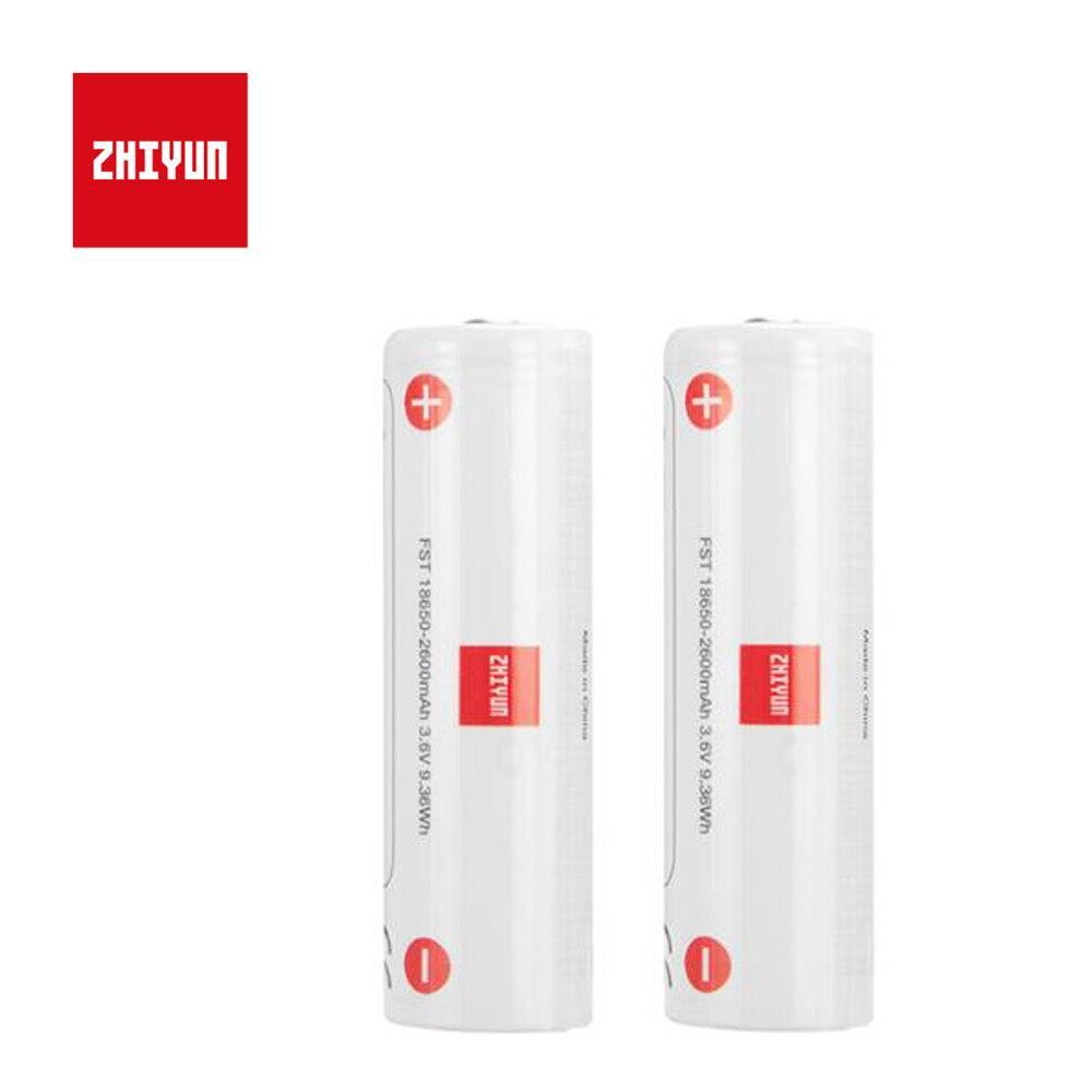 2 pçs/lote Zhiyun Weebill Laboratório Zhiyun Weebill Estabilizador Cardan Bateria 18650 2600mah Da Bateria Lipo Bateria