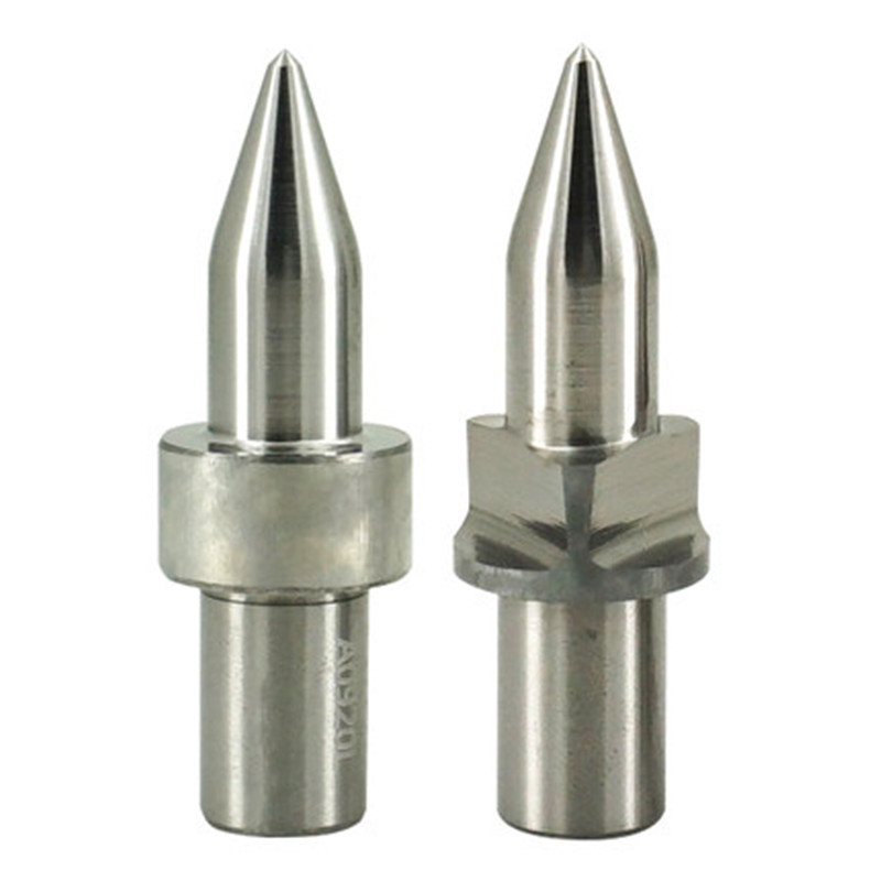 Round Type Formdrill Tungsten Carbide Flowdrill For Metal Standar Center Punch Tensile Friction Drill Bit Brocas Para Meta