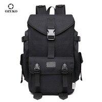 OZUKO Große Kapazität Oxford Reise Rucksäcke Mode männer 15,6 Zoll Laptop Taschen Casual Schule Taschen für Teenager 2021 Neue mochila