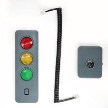 Otopark göstergesi araba garaj park güvenlik mesafesi Alarm ışığı akıllı park LED trafik ışığı yardımcı bulucu aksesuarı