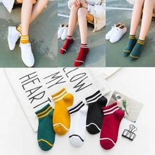 5 pairs of ladies socks boat breathable summer deodorant sweat short tube thin section low to help