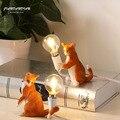 Nordic nachttisch lampen meow Sterne dekorative tisch licht Mini Kitty katze licht kinder schlafzimmer nacht lampe geburtstag geschenk lampe-in LED-Tischleuchten aus Licht & Beleuchtung bei