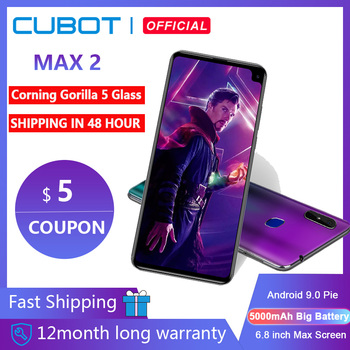 Cubot Max 2 Android 9,0 Octa-Core 6,8