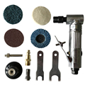 1/4 inch Air Angle Die Grinder 90 Degree Pneumatic Grinding Machine Cut Off Polisher Mill Engraving Tools Set With Spanner Wre|Grinders|   -