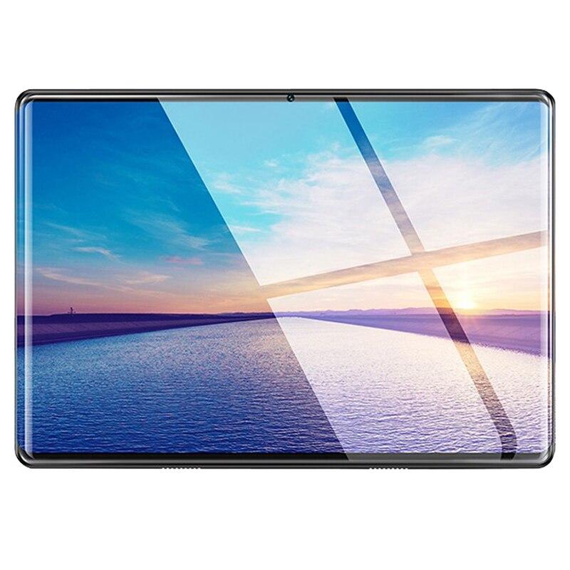 7000mAH Android 9.0 2.5D écran Tablette PC 10.1 Pouces 3G Téléphone Tablette PC 8 Octa Core RAM 6GB ROM 128GB Tablettes Enfants Tablette FM GPS