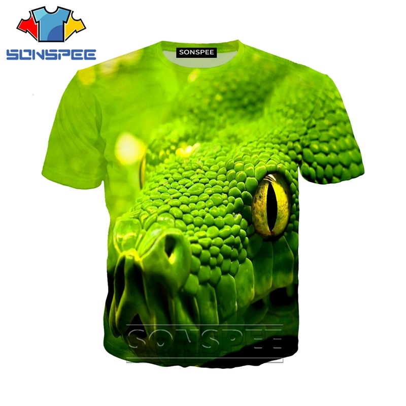 Anime 3d Print Game Logo Animal Snake Dj T Shirt Streetwear Men Women Fashion T-shirt Harajuku Kids Shirts Homme Tshirt A291