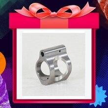 Bloque de Gas. 750, acero inoxidable, protector de manos/.750 Micro/bloque de Gas de perfil bajo con Pin 750 bloque de Gas