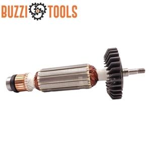 Image 5 - AC220 240V угловая шлифовальная машина арматура якорь заменить для MAKITA GA5030 GA4530 GA4030 GA5034 GA4534 GA4031 PJ7000 GA4030R GA4034 часть