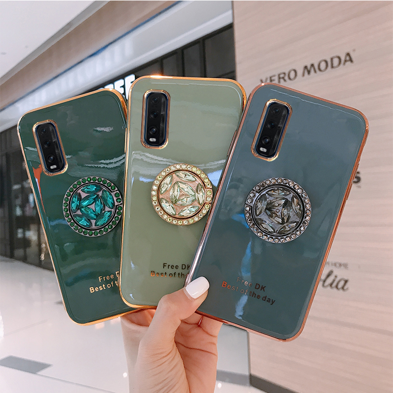 Luxury 6D <font><b>Plating</b></font> Case For <font><b>OPPO</b></font> <font><b>Reno</b></font> 4 Pro Soft <font><b>TPU</b></font> Phone BacK Cover For <font><b>OPPO</b></font> Reno4 Silicone Capa image