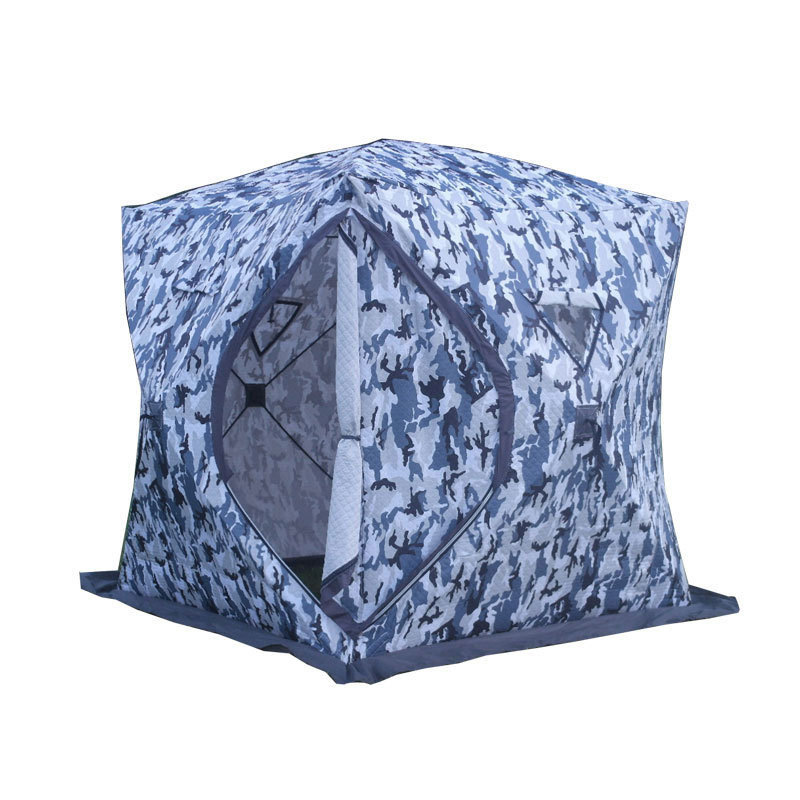 3 4 Person Use Winter Fishing Use Ice Fish Camping Tent Plus Cotton Outdoor Winter Fishing House