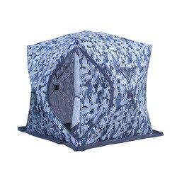 3-4 Persoon Gebruik Winter Vissen Gebruik Ijs Vissen Camping Tent Plus Katoen Outdoor Winter Vissen Huis