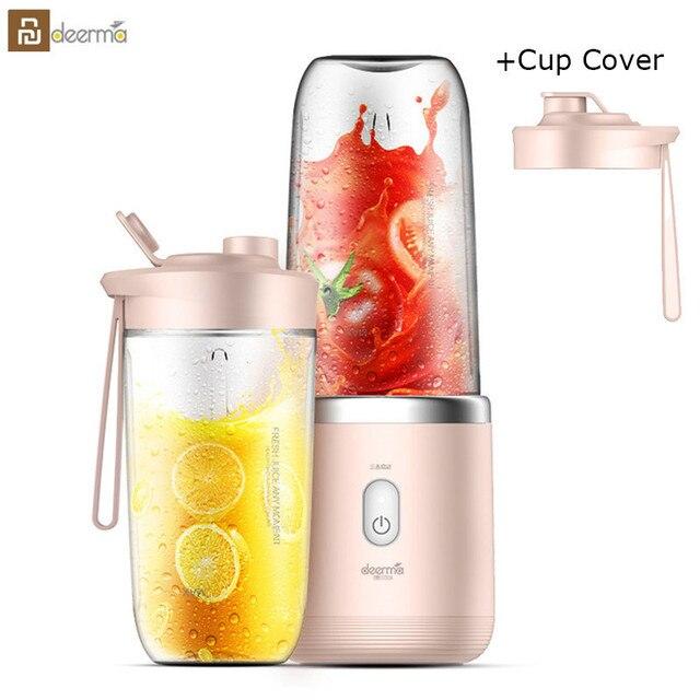 Youpin Deerma Juicer Automatische Wireless Home Fruit Groente Babyvoeding Milkshake Mixer Multifunctionele Mini Sap Elektrische Sap