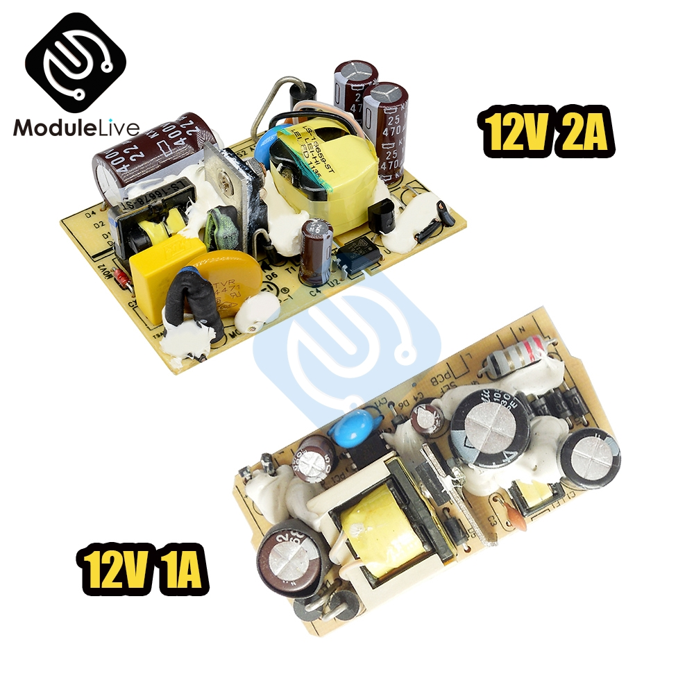 AC DC 12V 1A 2A Switching Power Supply Module DC Voltage Regulator Switch Circuit Bare Board Monitor LED Lights 110V 220V Tools|Switching Power Supply|   - AliExpress
