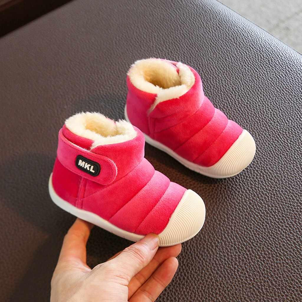Winter säuglings kleinkind stiefel Kinder Baby Mädchen Jungen Winter Feste Warme Kurze Stiefel Casual Schuhe zapatillas hombre #3