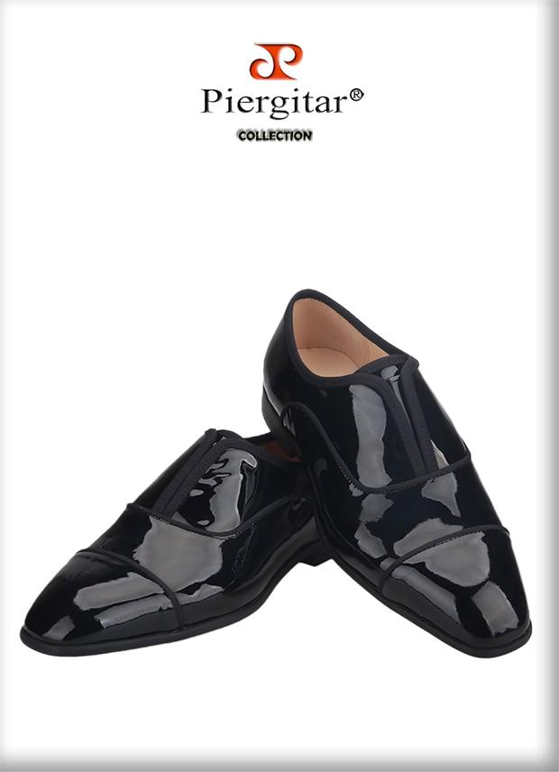patente homens casuais sapatos de negócios feitos
