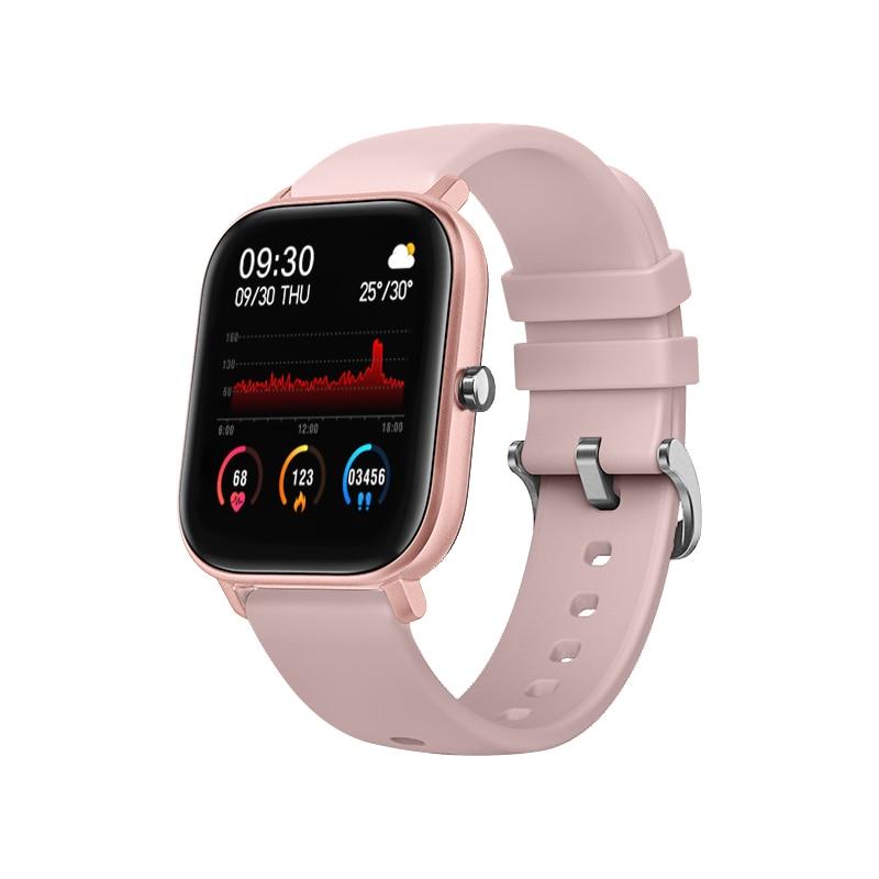 VOHE P8 1 4 inch Smart Watch Men Full Touch Fitness Tracker Blood Pressure Smart Clock Women GTS Smartwatch for Xiaomi