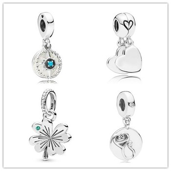 925 Sterling Silver Bead Charm Medical Instruments With Crystal Pendant Beads Fit Pandora Bracelet & Necklace Jewelry