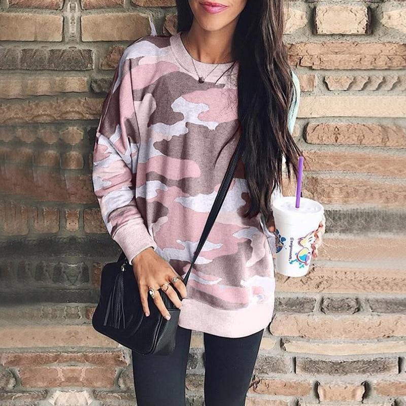 Winter Women Hoodies 2020 Women Loose Hoodies Sweatshirt Good Casual Long Sleeve Slim Pullovers