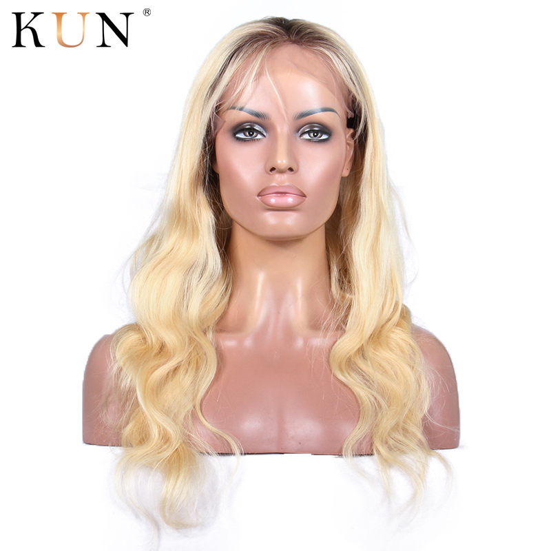13x4 Blonde Lace Front Wig T4 613 Lace Front Human Hair Wigs Brazilian Body Wave Wig Transparent Lace Wigs Pre Plucked For Women