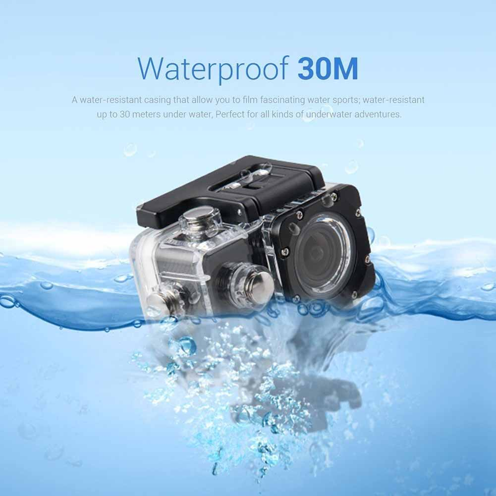 Спортивная Экшн-камера Ultra HD 4K 1080P WiFi 16 Megas Водонепроницаемая DVR видеокамера