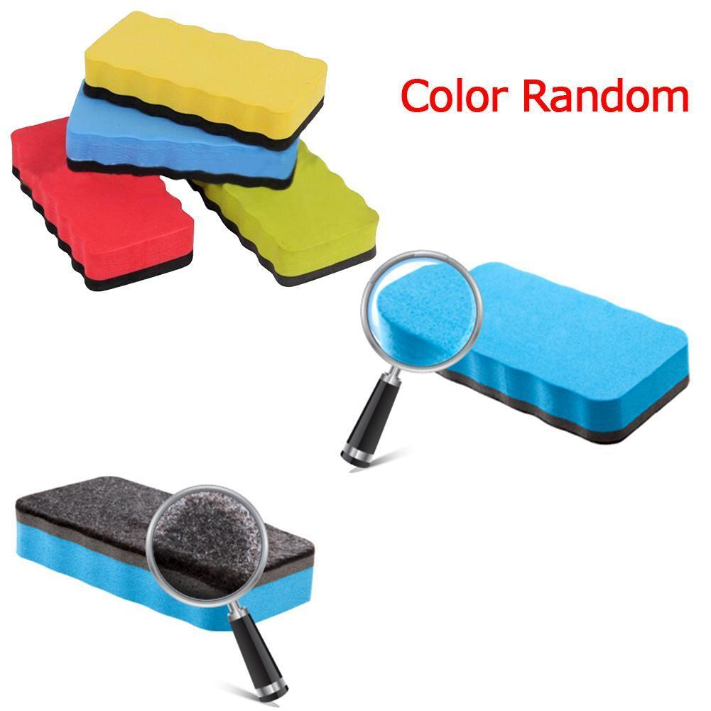 Magnetic Whiteboard Eraser Writing Sticker Magnets Escolares Classroom Stationery Eva Supplies Accesorios Erasers School F7M1